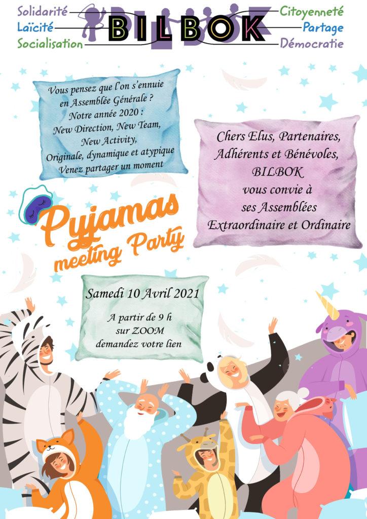 invitation-pyjama